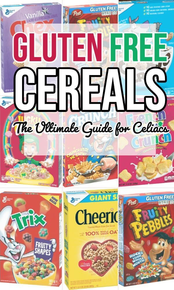 Gluten Free Cereals The Ultimate Guide Eat Or Drink Gluten Free Cereal Gluten Free Kids Gluten Free List