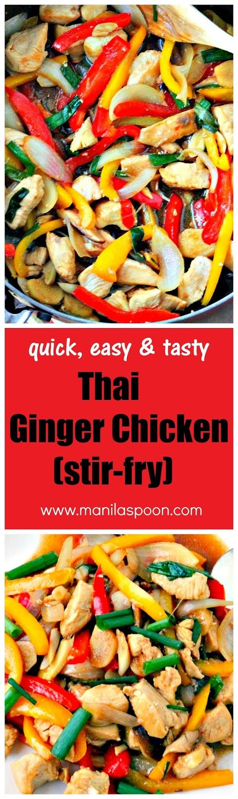 245 best our best recipes for pinning manila spoon images on easy and full of flavors thai ginger chicken will satisfy your cravings for asian asian food recipesasian forumfinder Image collections
