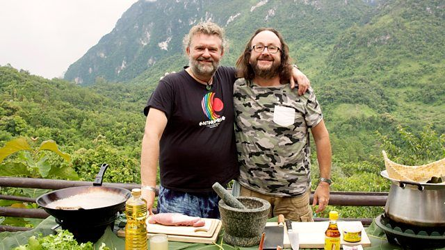 The Hairy Bikers' Asian Adventure BBC: Fiery Korean Octopus