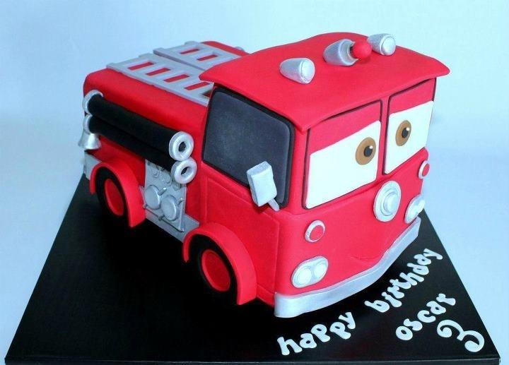 Fire Engine Birthday Cake Ideas
