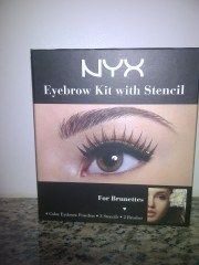 NYX Eyebrow Kit with Stencils  Read a full review on The Neon Leopard!