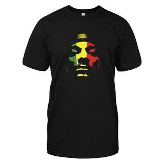 @Overstock.com - Snoop Dogg Rasta T-shirt - This black T-shirt features a picture of Snoop Dogg in classic Rastafari colors. Made of 100-percent cotton, the tee is soft, comfortable and pre-shrunk for the perfect fit.  http://www.overstock.com/Clothing-Shoes/Snoop-Dogg-Rasta-T-shirt/8346923/product.html?CID=214117 $22.49