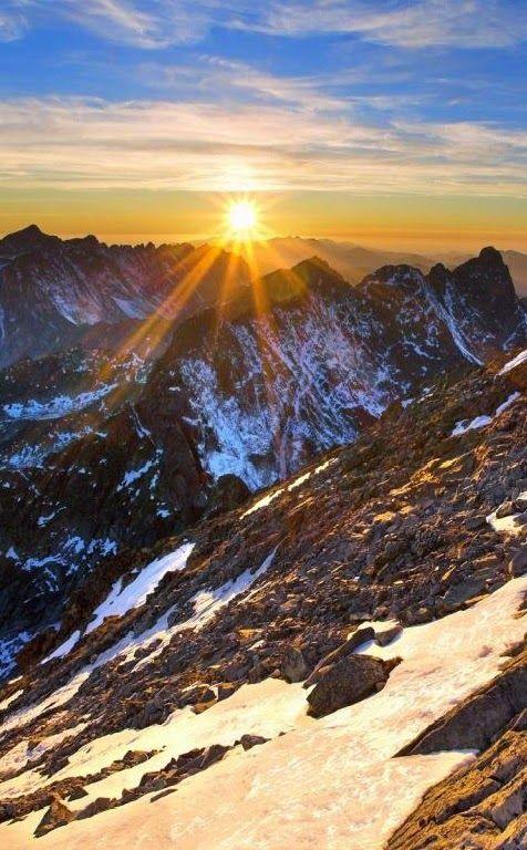 Tatra Mountains, Tatra National Park,Slovakia