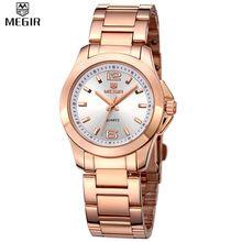 Megir часы женщины роскошные пара платье наручные часы relogio feminino часы для женщин montre femme кварцевые женские часы для любителей //Цена: $20 руб. & Бесплатная доставка //  #смартфоны #gadget