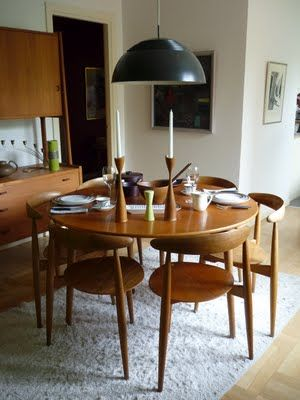 Back to the 50´s. Dining room