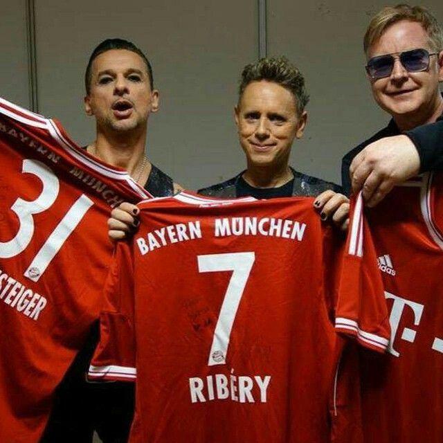 Depeche Mode. WRONG TEAM!! Oh well, I still love them.