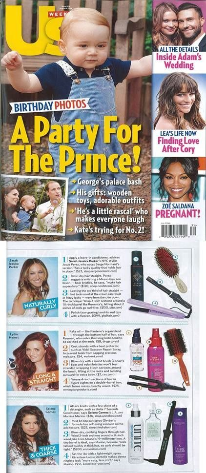 The Rowenta Beauty Curl Active Iron was featured in Us Weekly as SJP's favorite curling iron!