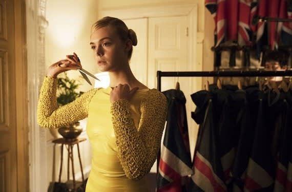 映画 パーティで女の子に話しかけるには エル ファニング礼賛 一日の王 女の子 ドレス 長袖 ファニング
