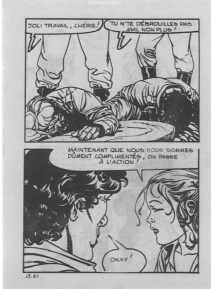 Woman strangling man 2