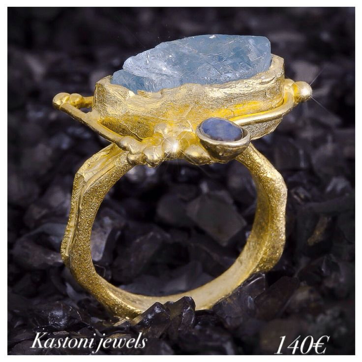 #Kastonijewels #rings #handmade #aquamarine #Greece #gemstones #silver