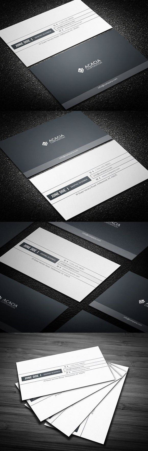 127 best card images on pinterest business card templates simple business card magicingreecefo Images
