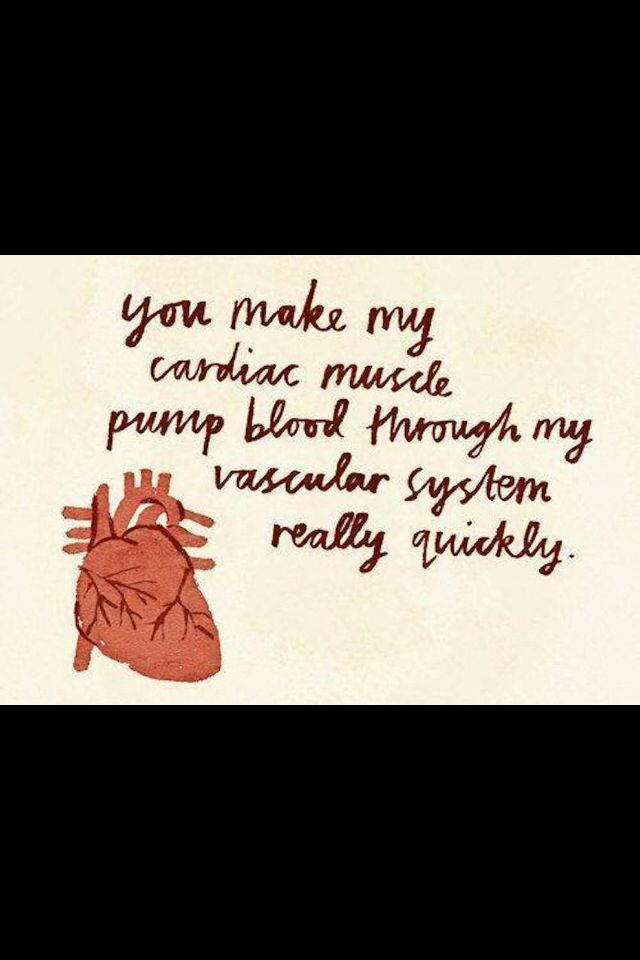 Anatomy pick up lines