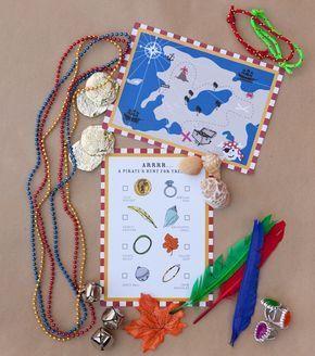 Pirate Treasure Hunt Birthday Party Activity. Buy now @ RevelBee.com