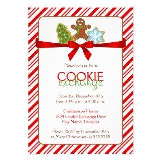 Cookie Exchange Party Invitation
