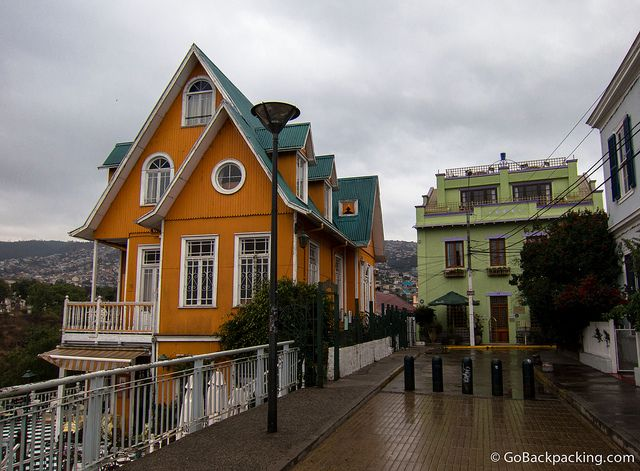 A Weekend Valparaíso, Chile   Go Backpacking
