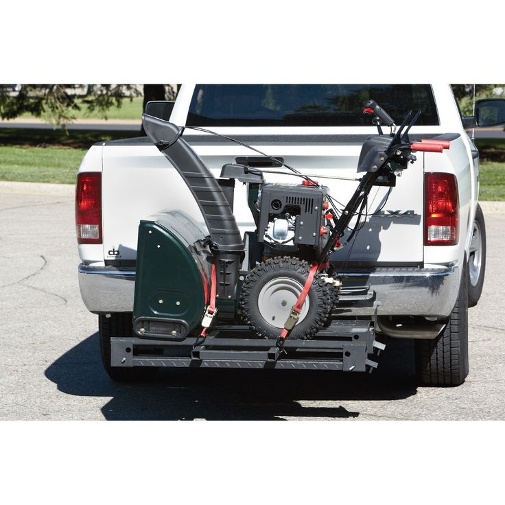 Lawn Tractor Cargo Rack : Ultra tow adjustable cargo carrier with ramps shops