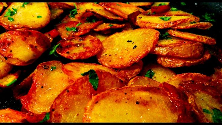 Жареная картошка По-Немецки - YouTube