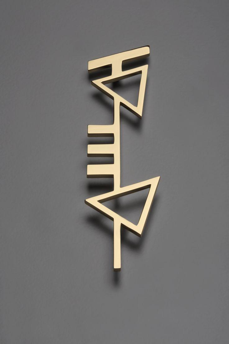 Mendini, pendente 10, oro 24 carati, 2014, cm h.14 | Artribune