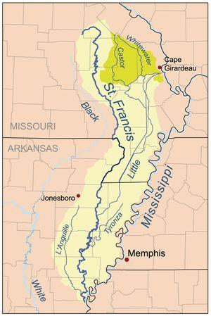 St. Francis River - Wikipedia, the free encyclopedia