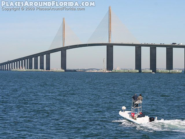 1000 images about tampa bay on pinterest bobs the old for Sunshine skyway fishing pier