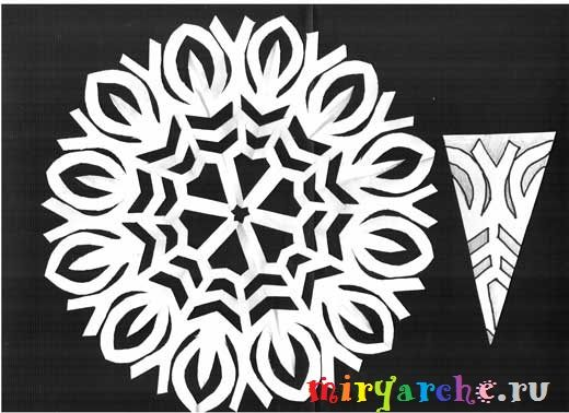 Paper Snowflake patterns -   новогодние снежинки