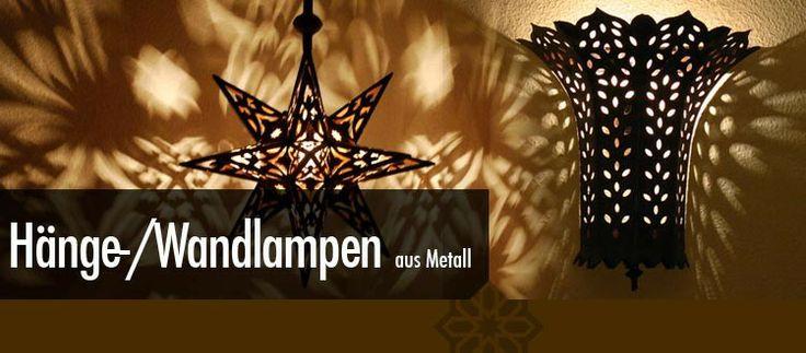 Orientalische lampen aus eisen lassen sie in die for Hochwertige lampen