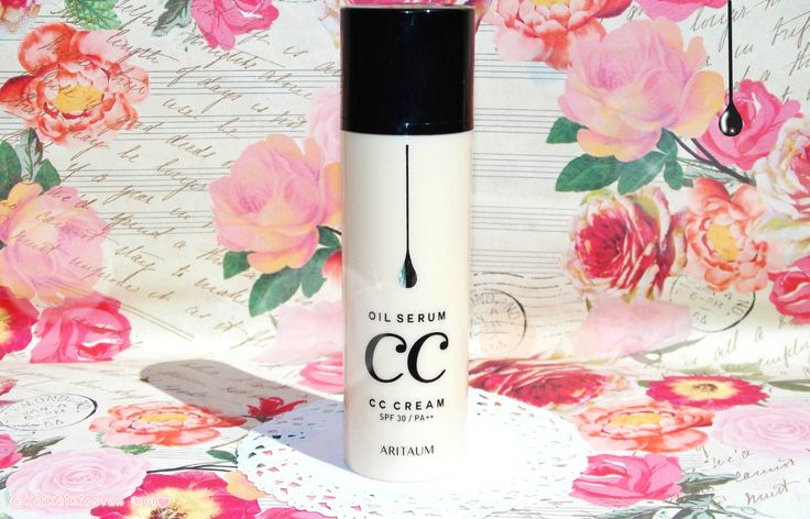 KeiKei 케이 (ノ◕ヮ◕)ノ*:・゚✧❤: [Sponsored Post] 아리따움 오일세럼 CC크림 Aritaum Oil Serum CC Cream Review~❤