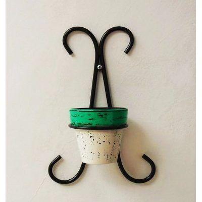 Porta Cactus Maceta Hombre De Hierro 4 Aros - $ 299,00