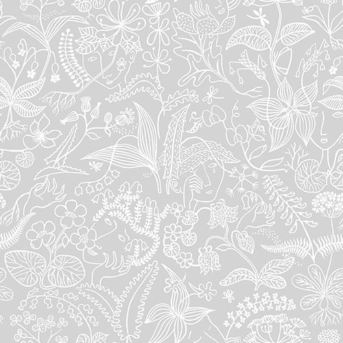 Scandinavian Designers Dove Grey wallpaper by Boråstapeter