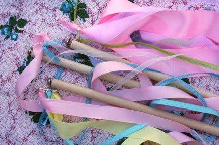 Diy ribbon stick tutorial! Super cute #tutorial