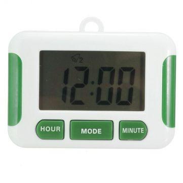 LCD Digital de la cocina del temporizador de cuenta atrás para arriba del reloj contador de cocina campana de alarma de reloj en Banggood
