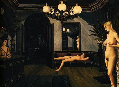 Night Train - Paul Delvaux