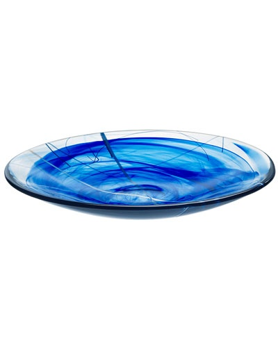 Love this blue platter by Kosat Boda on RueLaLa!