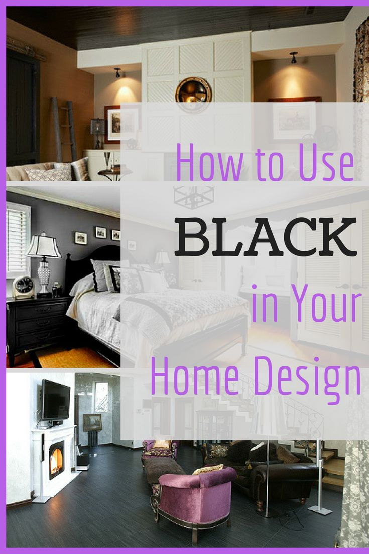 Black Is Popping Up Everywhere In Home Design From Wall Paint To Furniture