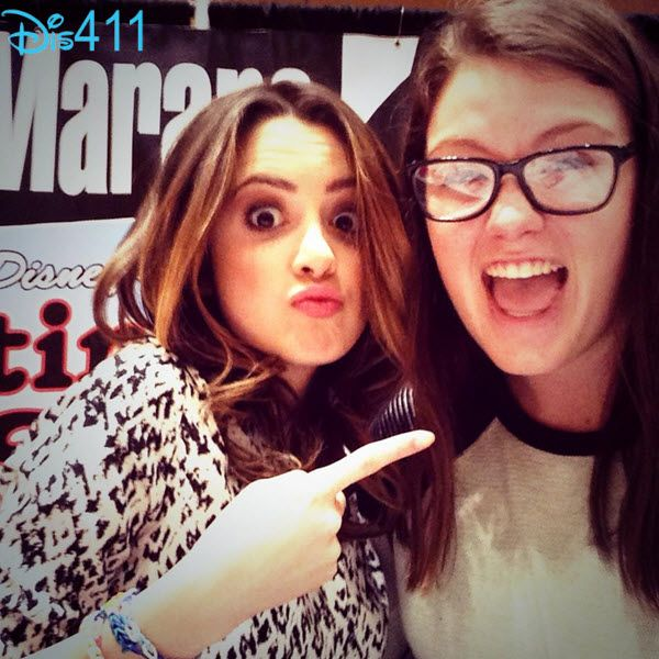 Photos: Laura Marano With Fans In Ohio January 11, 2015 - Dis411