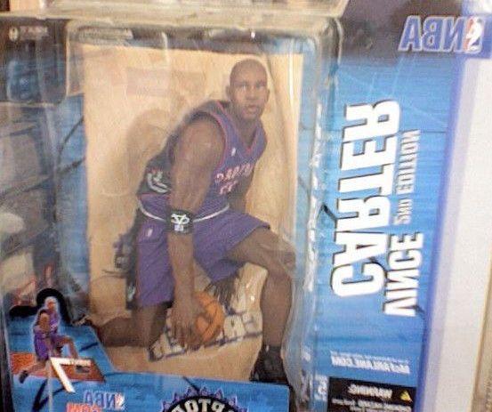 "6"" VINCE CARTER Mcfarlane Rare Toronto Raptors figure NBA 7 figuine statue"