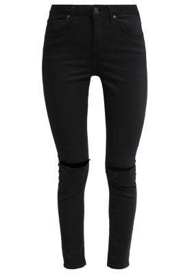 JAMIE SKINNY ANKLE - Jeans Slim Fit - black