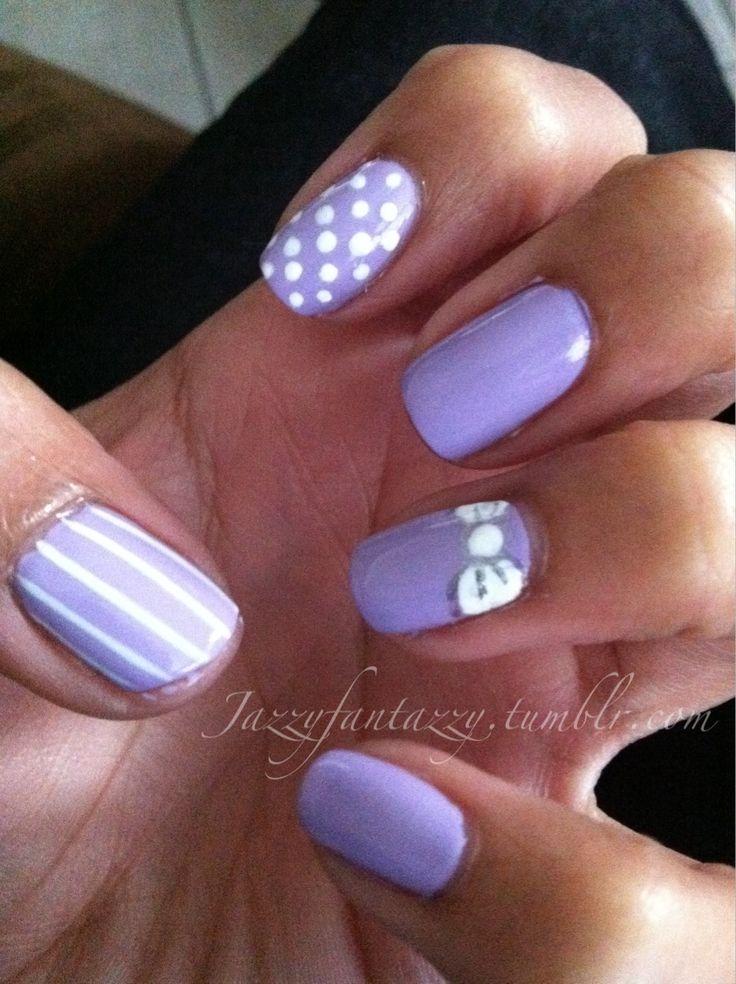 16 best Nail Designs - Purple• images on Pinterest | Nail scissors ...