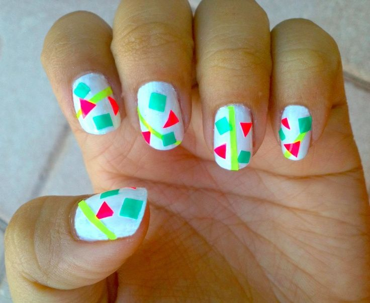 25 trending short nails 2014 ideas on pinterest trendy nails cool nail designs nail designs tumblr for short nails 2014 for prinsesfo Images