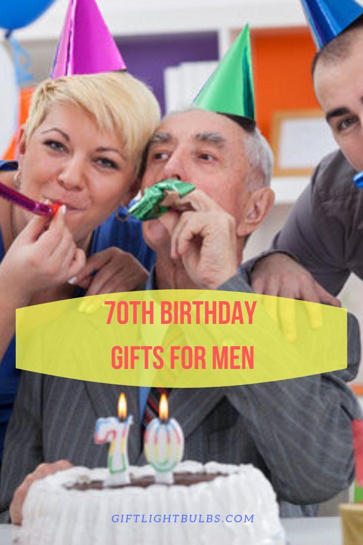 gift for man 70th birthday