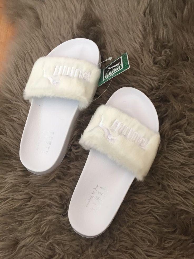 Rihanna Fenty Fur Slipper shoes