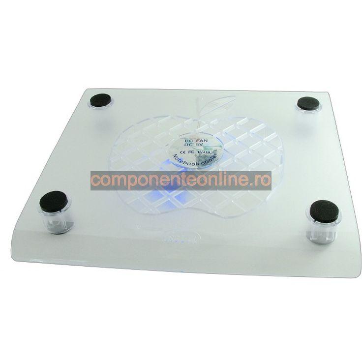 Suport pentru laptop, cu 1 ventilator - 114817