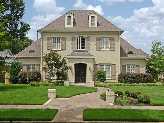 French Country Exterior, Home, Brick
