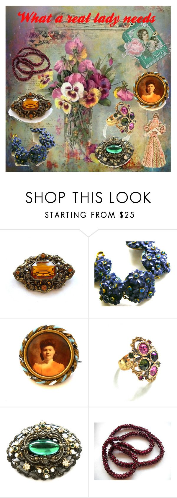 What a real lady needs! by luckystanlv on Polyvore