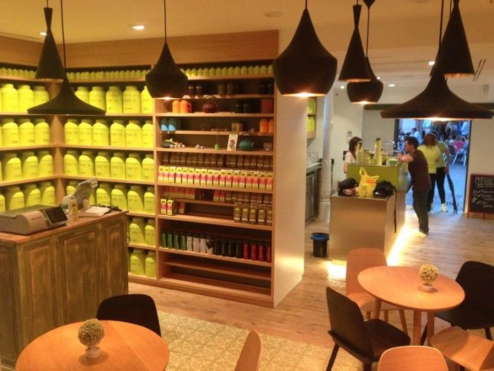 Takoe: a mast-go tea-shop and tea-bar in Huertas, Madrid