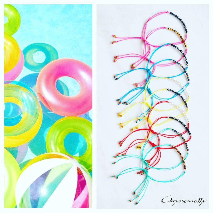 JEWELRY   Chryssomally    Art & Fashion Designer - Boho luxe cord bracelets with Swarovski crystals in blue, turquoise, fuchsia, yellow, red, emerald green, silver and gold hues