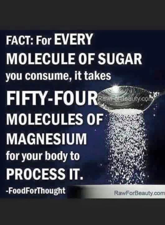 Well that explains a lot - since the majority of people have a magnesium deficiency and don't even know it!!!!