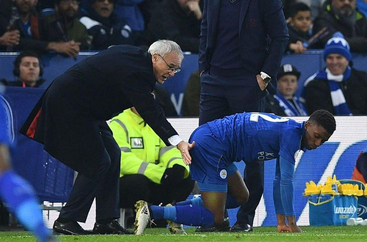 Leicester star Demarai Gray punished after England under-21 winger posted online laughing gas video