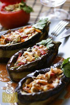 Tavuk Yemekleri | Tavuklu bostan kebabı- yemek tarifleri- patlıcan kebabı | Lezzet Yolu | Denenmiş Resimli Yemek Tarifleri, Mekanlar, Haberler, Şefler ve Daha Fazlası