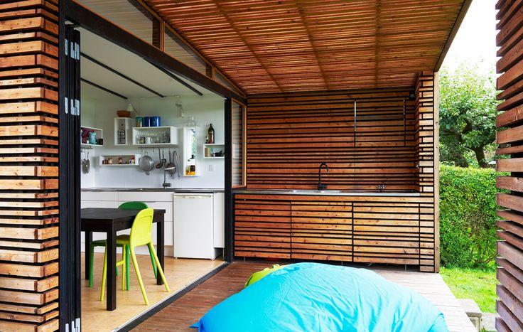 Sommer - huse- billige nye kolonihaver